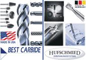 BEST CARBIDE HUFSCHMIED frese lime rotative inox titanio inconel compositi plastica
