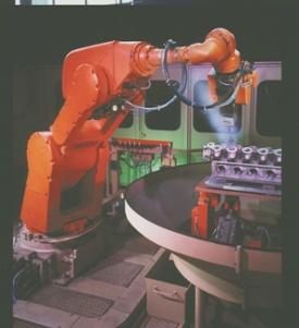 Sbavatura robotica